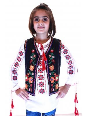 Vesta Traditionala Fetite Viorica