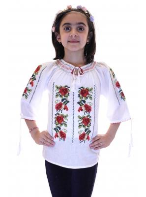 Ie Traditionala Pentru Fetite Anisoara