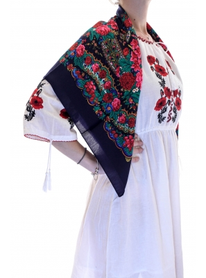 Batic traditional Anastasia bleumarin