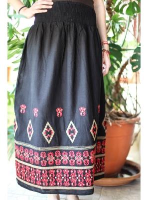 Fusta neagra cu motive traditionale Crenguta