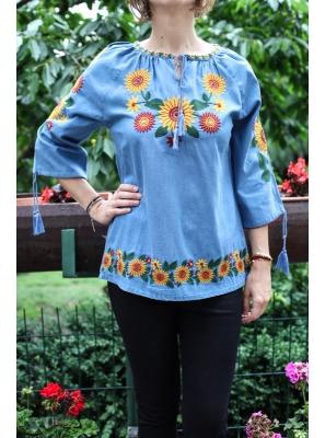 Bluza Brodata cu motive Traditionala2
