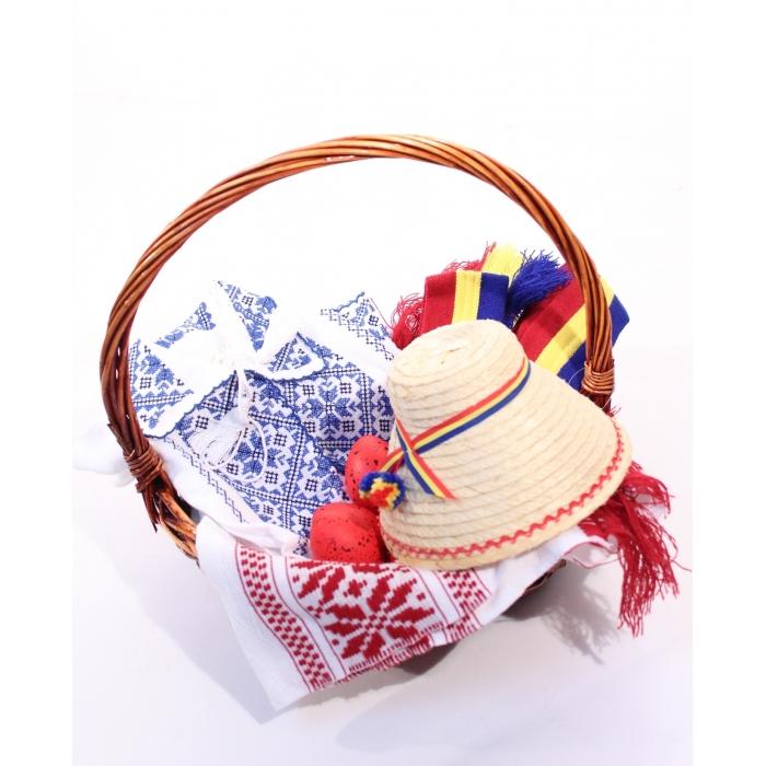 Cos traditional cadou Paste pentru copii